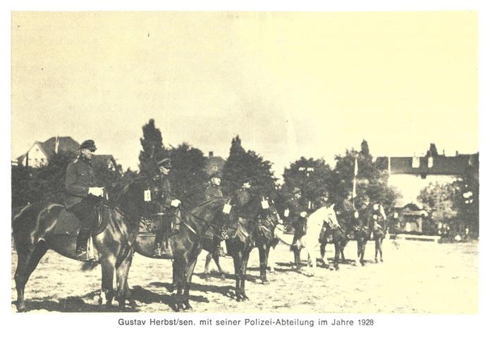 Chronik_Polizeiabteilung_1928